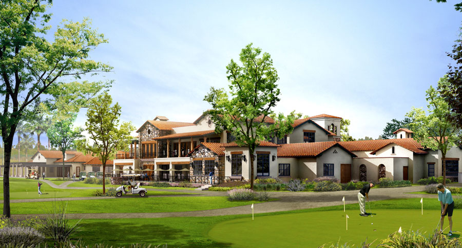 country club architecture design