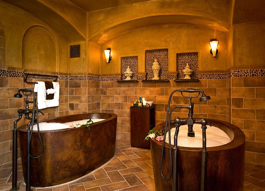 spa - copper tubs