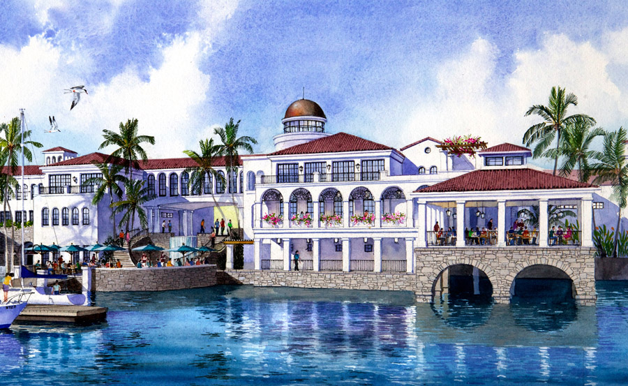 yacht club country club architecture design