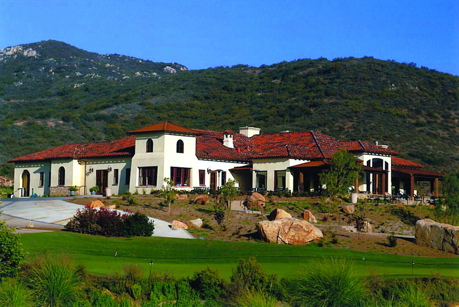 spanish architecture golf clubhouse