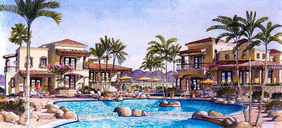 golf resort villas