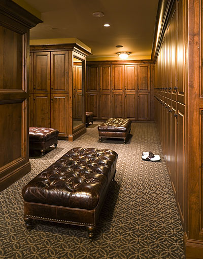 country club locker room interior design
