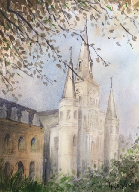 Louise Hansen LWS, St. Louis Cathedral