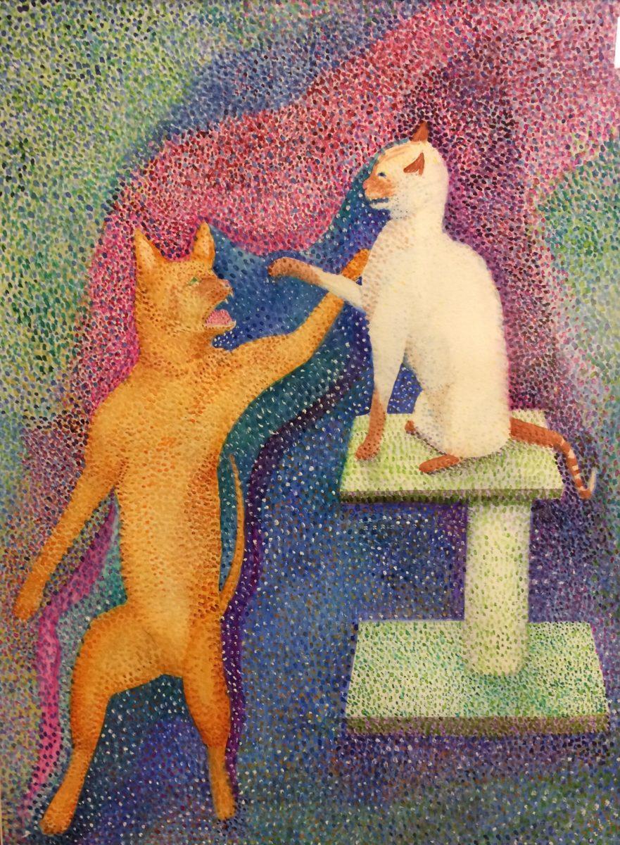 Jo McWilliams, Cerval Cat Attack