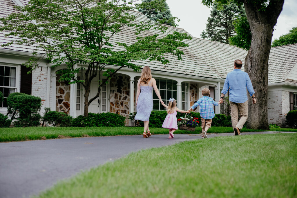 Our journey to finding the perfect family home