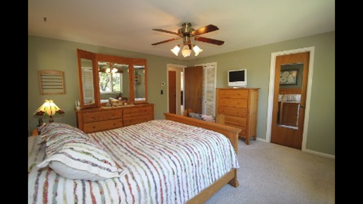 Master bedroom at our third flip house