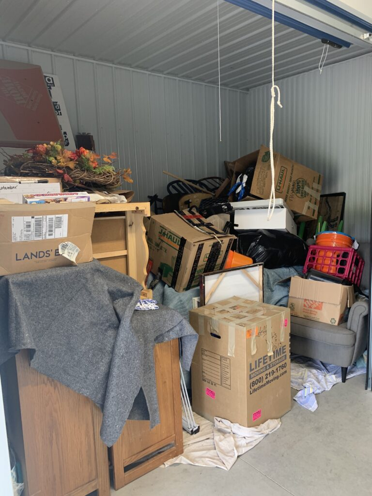 Don't move anything you don't want at your new house