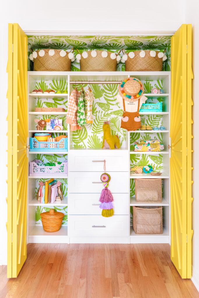 Fun closet design