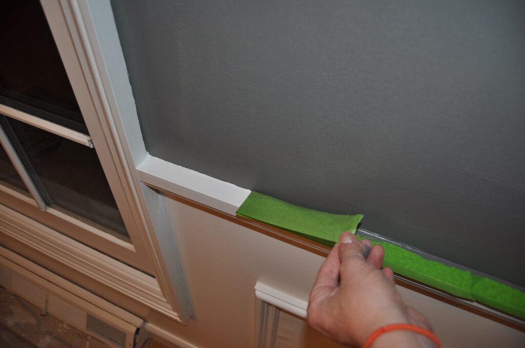 Crisp paint lines using Frogtape