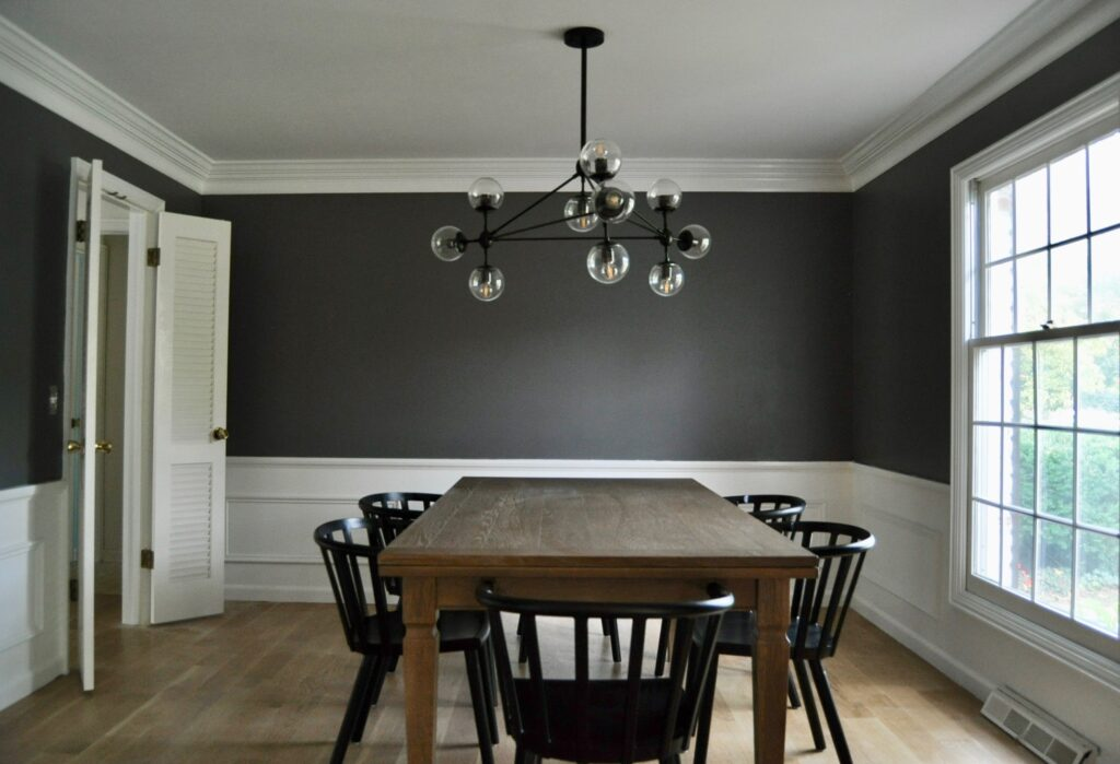 One Room Challenge dining room progress