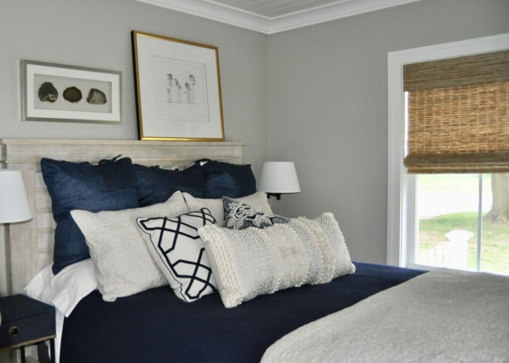 Welcoming bedroom in this Toledo rental