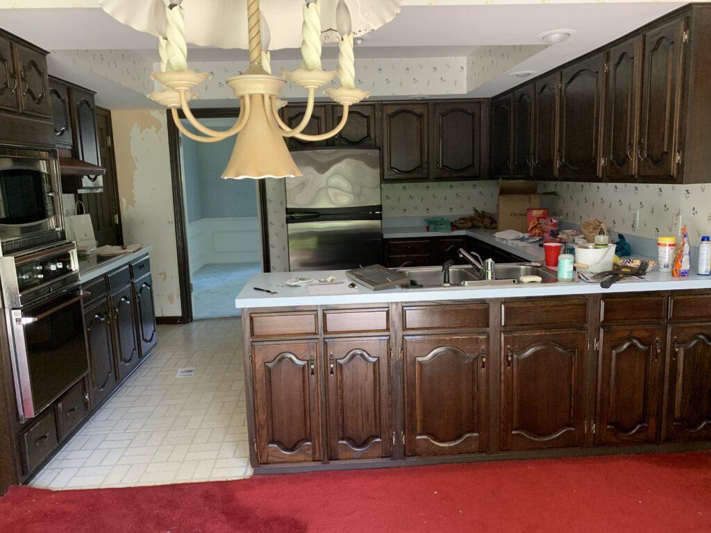 Original kitchen built in 1967