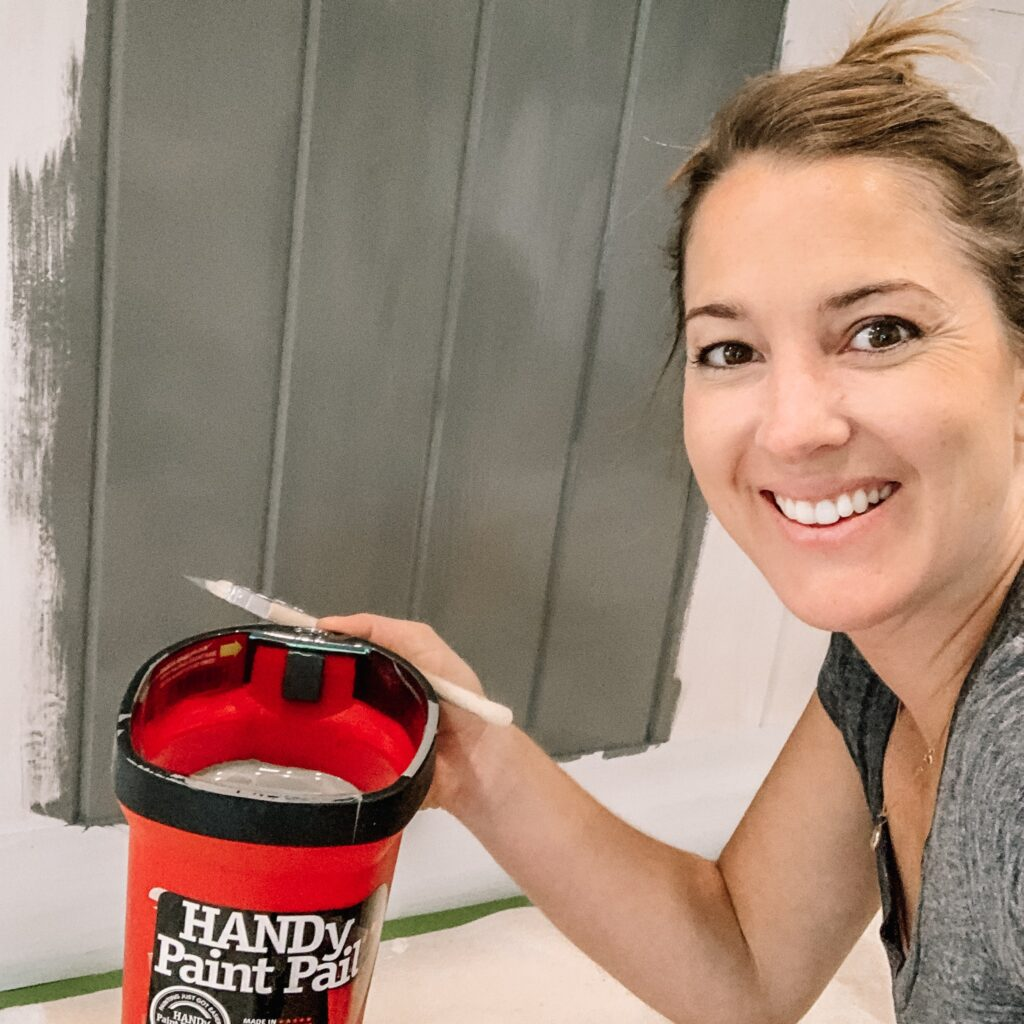 Painting the kitchen island to match to save money