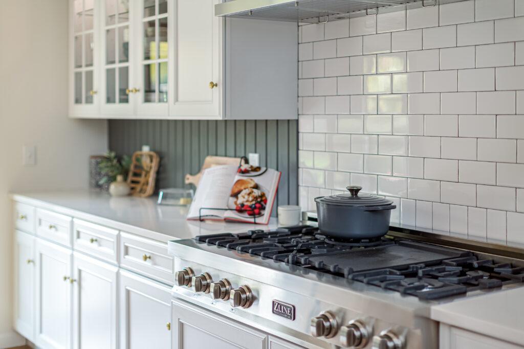 New ZLine range in our remodeled kitchen