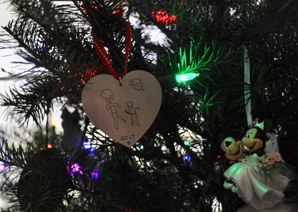 Home made Christmas ornaments