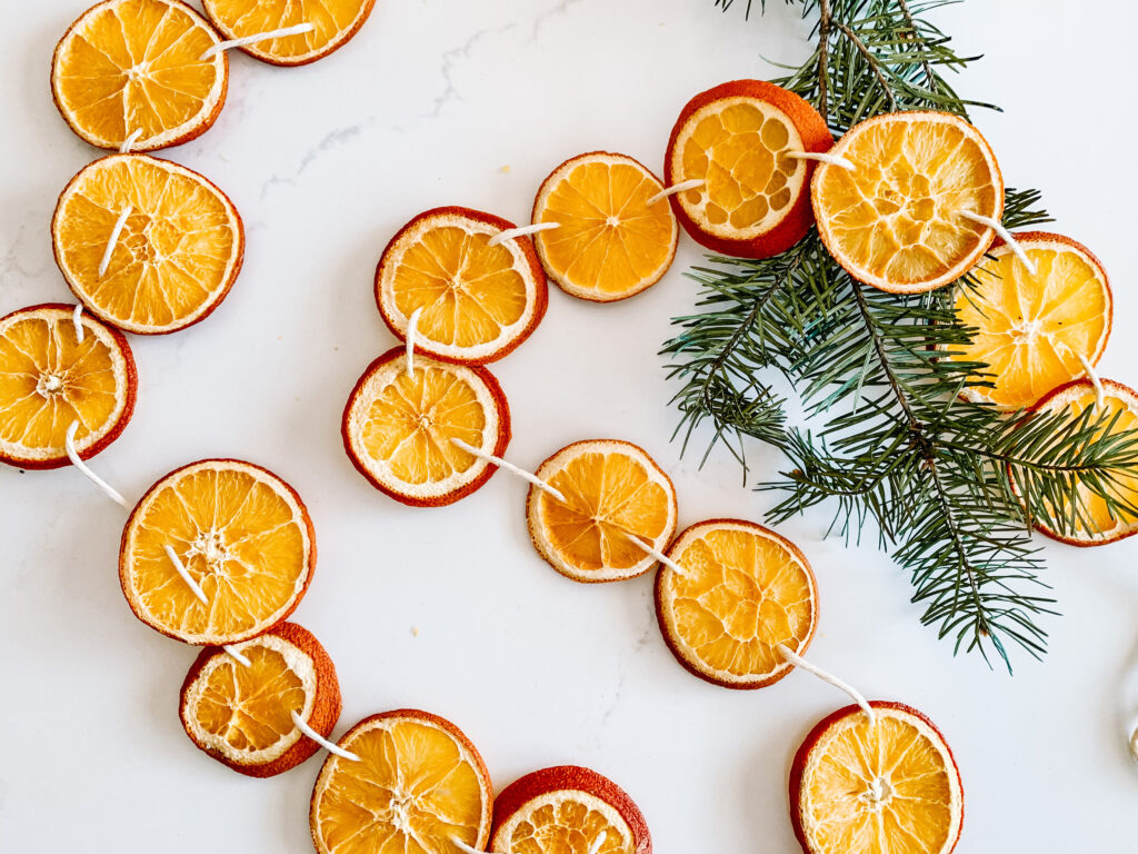How to use dried oranges for holiday decorating