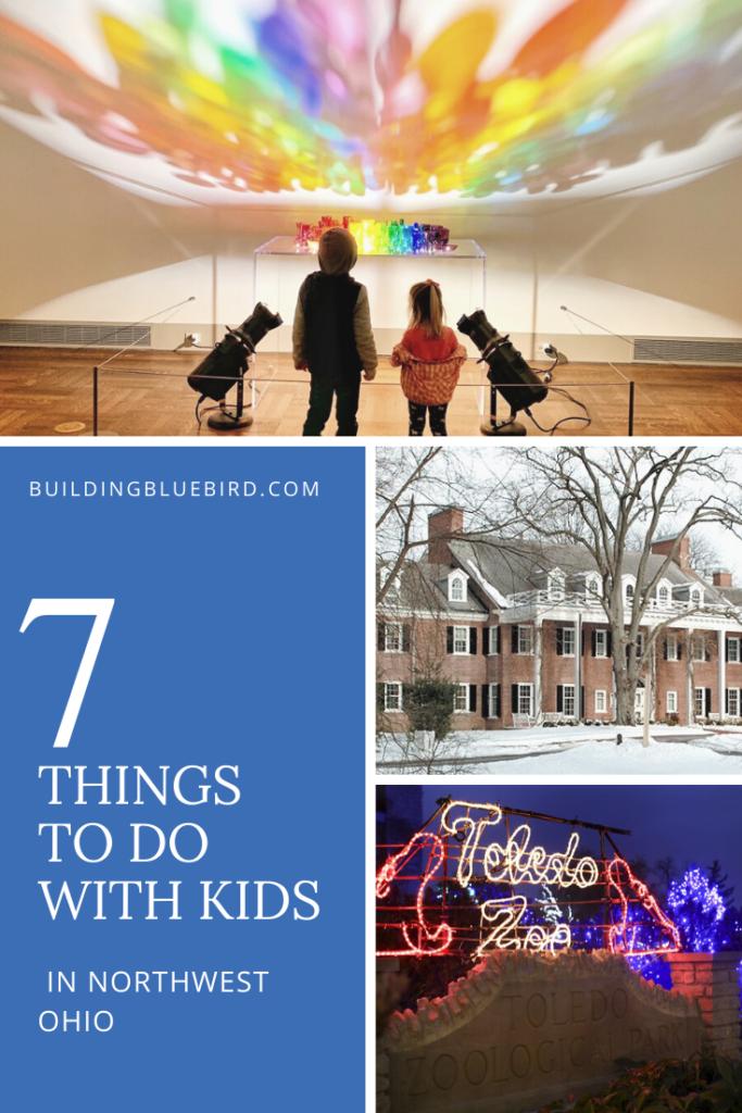 Things to do in Northwest Ohio with kids this winter season #kidsactivities #stem #winteractivites #toledohio