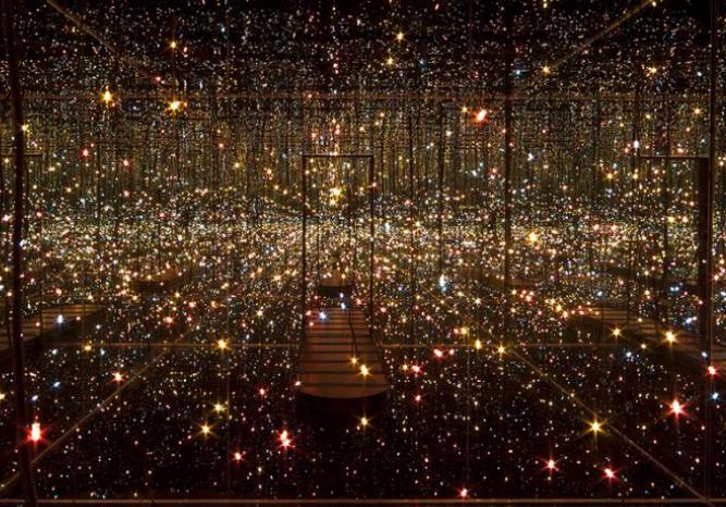 Fireflies on the Water art exhibit