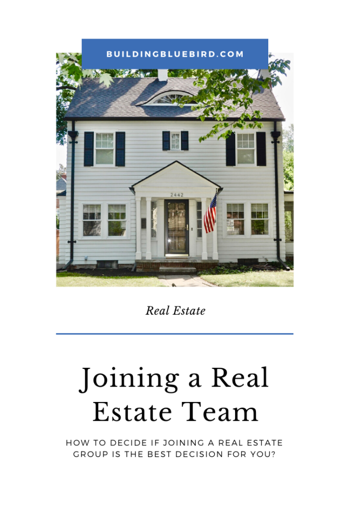 Questions to ask when you are deciding to join a real estate team. #realestateagent #realtor #realestate