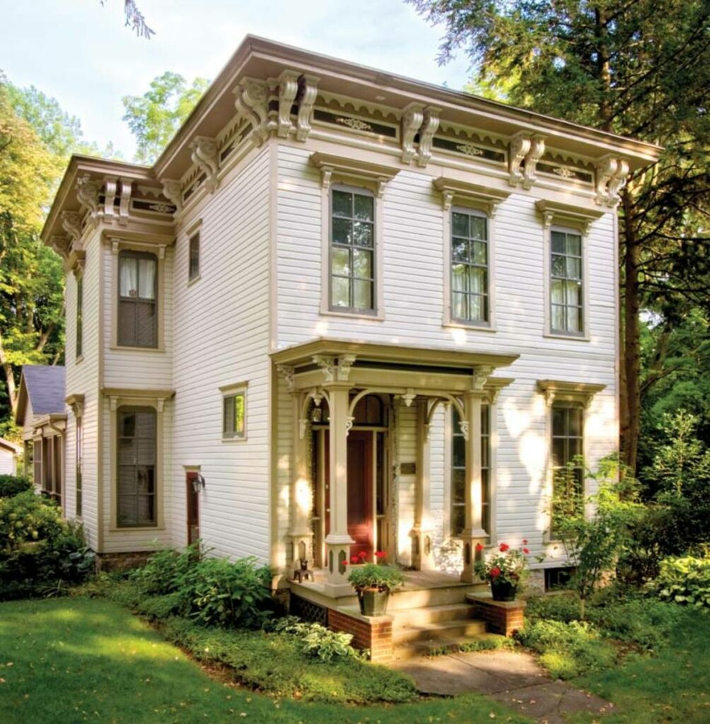 Historic Victorian home with Italianate features