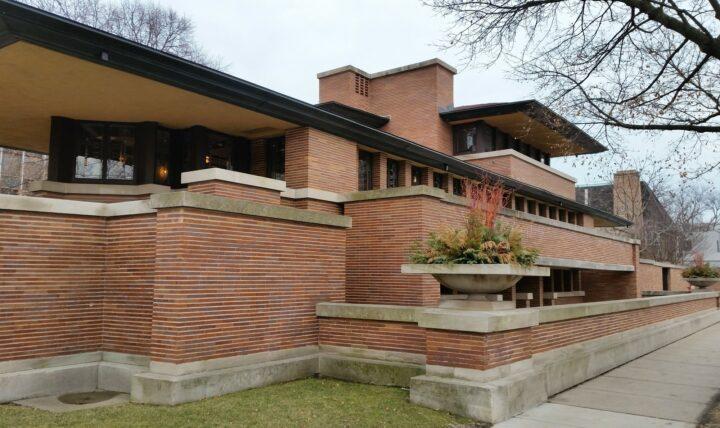 Frank Lloyd Wright Prairie style home