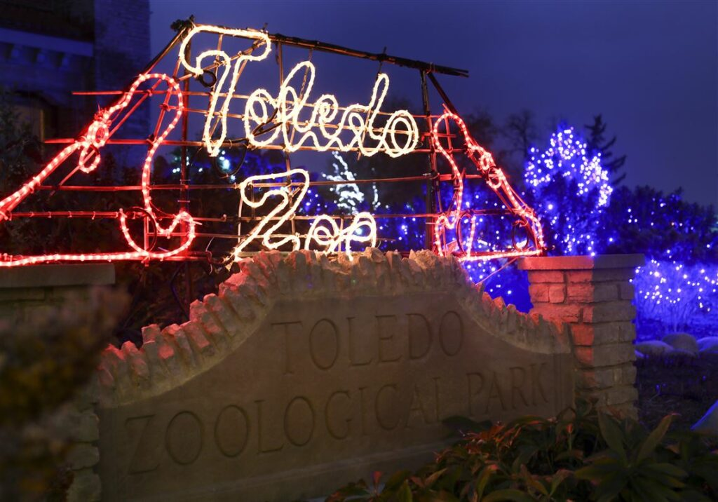 Visit the Lights Before Christmas with your kids