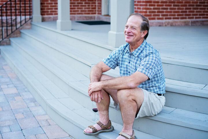Steve Davis: Owner of the Bosler House