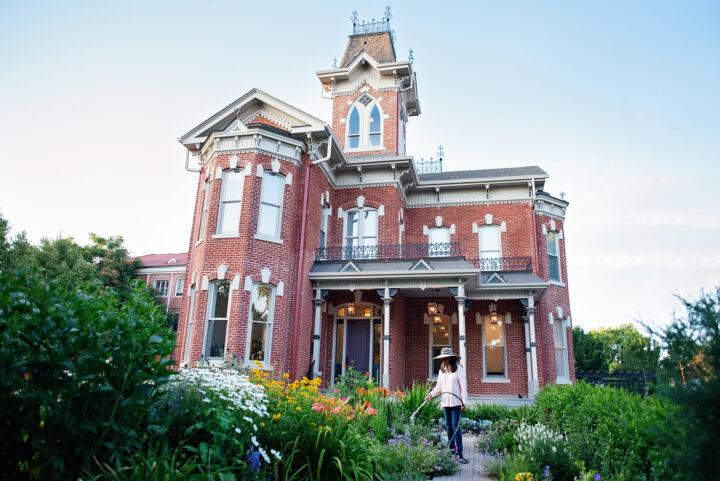 Italianate historic home built in 1875, the Bosler house