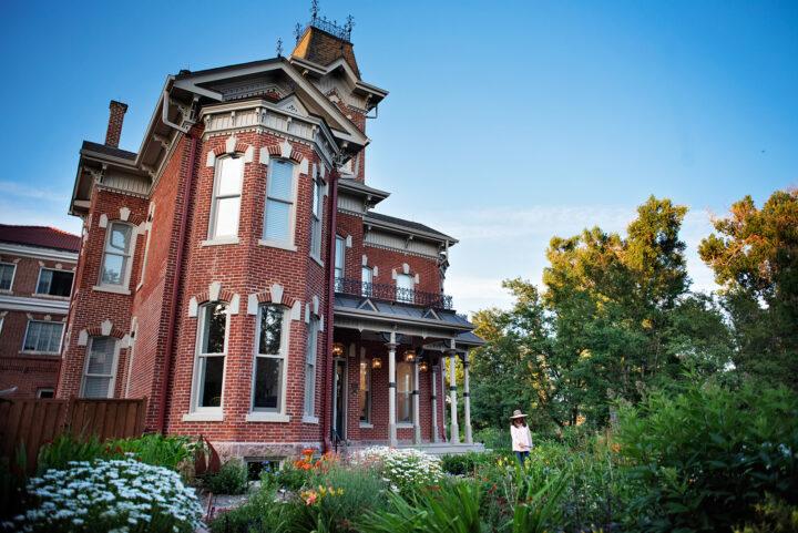 Historic Bosler House - exterior restoration