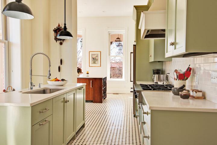 Bosler House kitchen