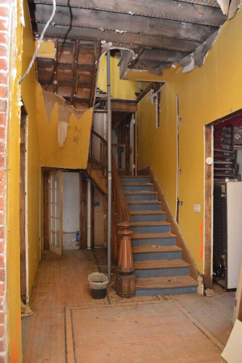 Bosler House before the interior renovation began