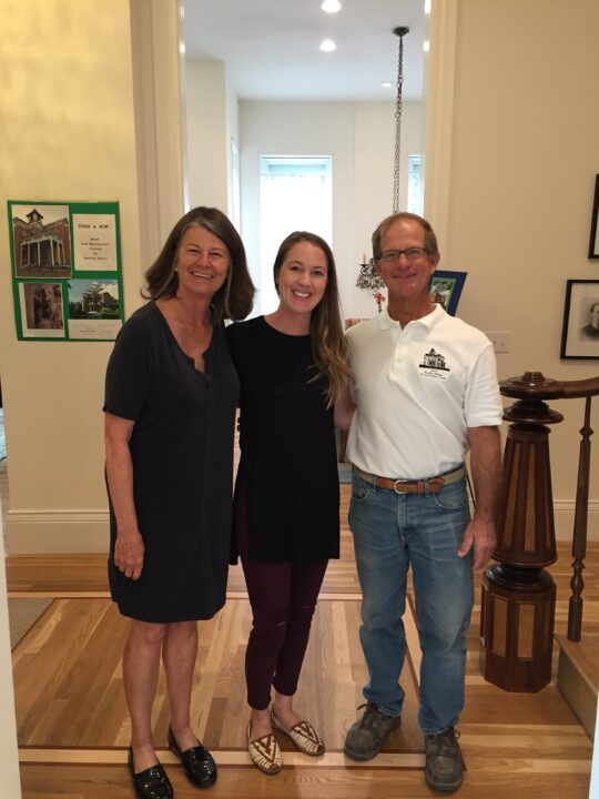 The owners of the Bosler House | Building Bluebird