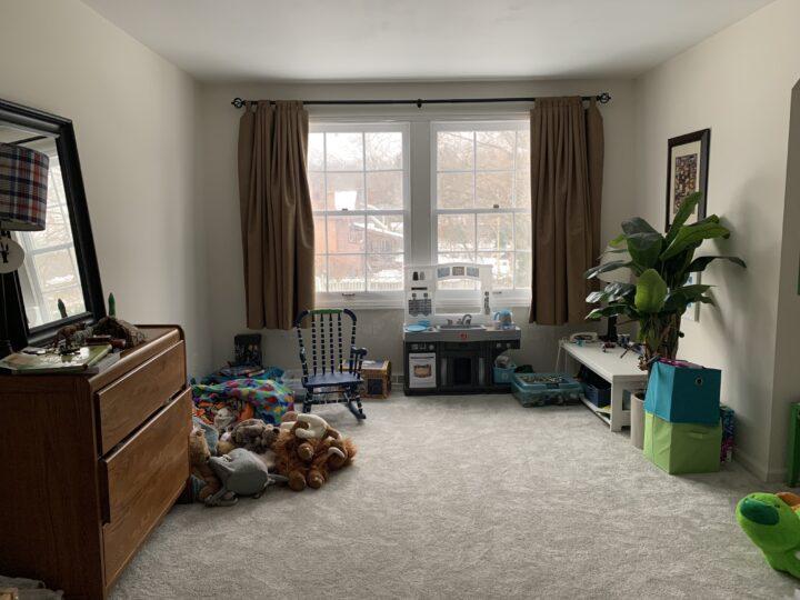 Boys bedroom makeover - One Room Challenge Week 1