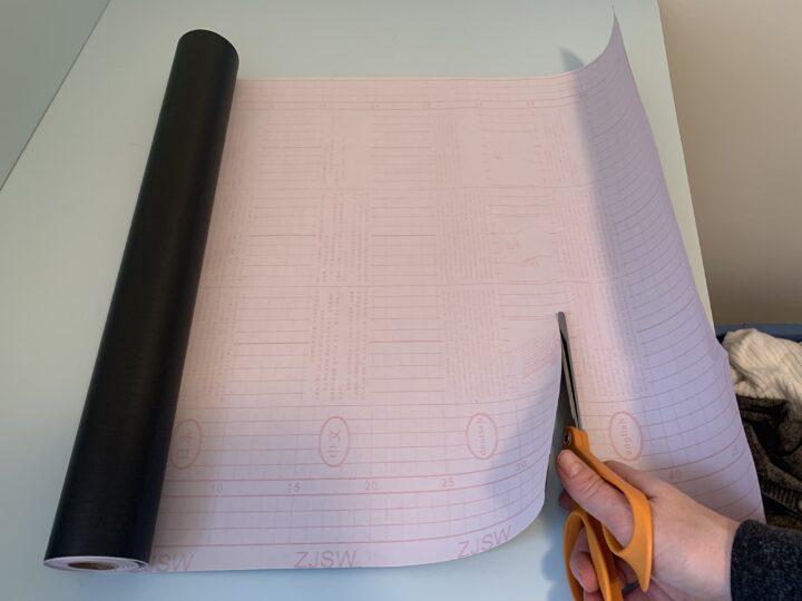 Contact paper DIY