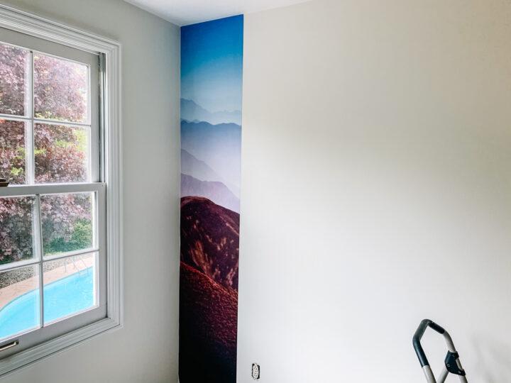 Easy Rebel Walls mural installation tutorial