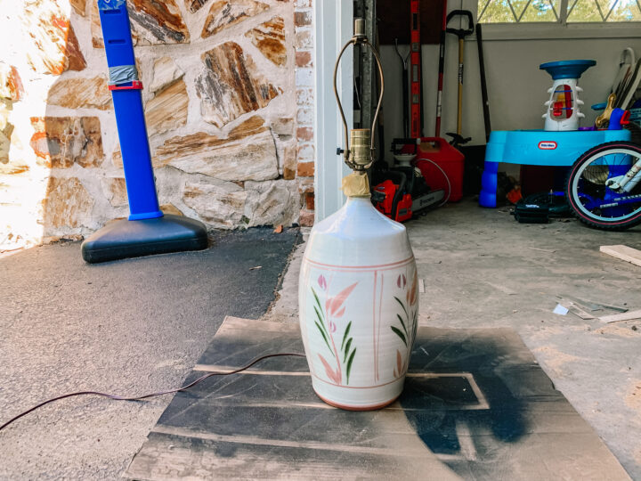 How to give an old lamp a fresh, new look