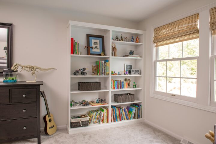 DIY billy bookshelf hack #ikea