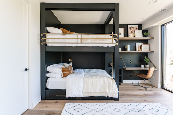 Bunk bed inspiration by Becky Owens