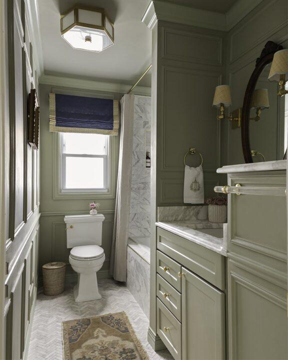 A Glass of Bovino bathroom transformation
