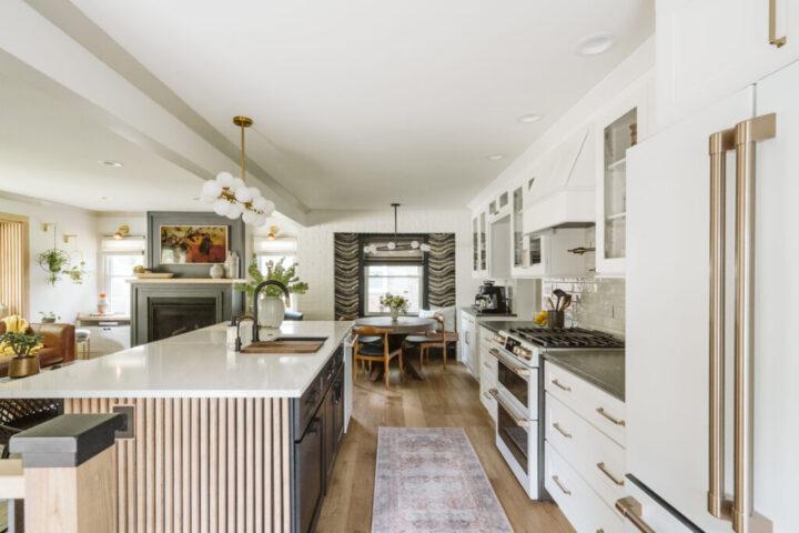 Inspiring One Room Challenge Transformations - Clark + Aldine kitchen