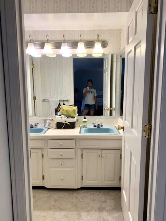 How to update and modernize a 1960's bathroom