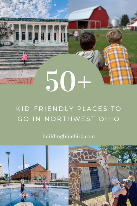 Massive list of kid-friendly places to go in Northwest Ohio | Building Bluebird #toledoohio #homeschool