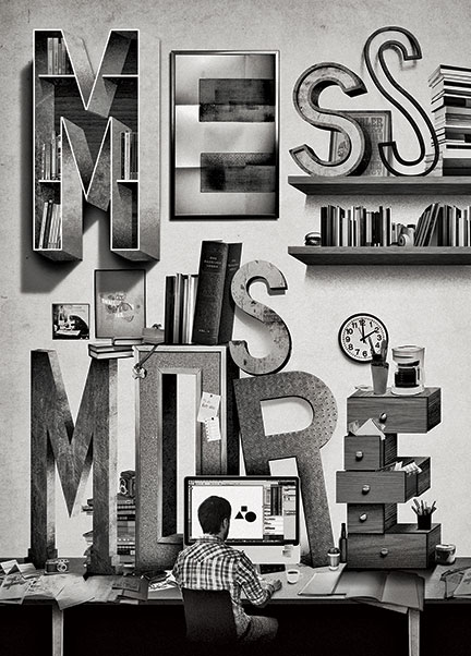 Mess Is More