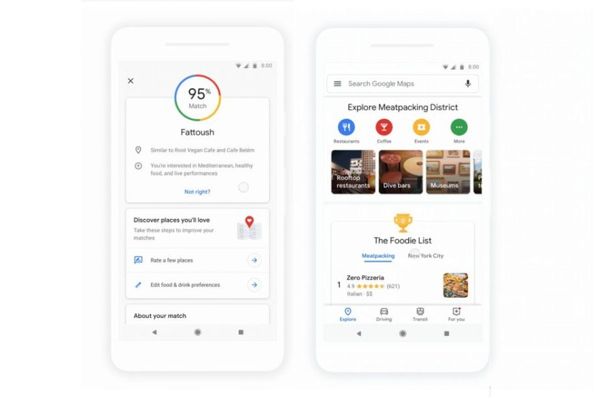 Can't Decide Where to Eat? Google Can Fix That