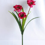 Artificial Flower 29*28*45cm Open ranunculus*3 GS-12819002-R2