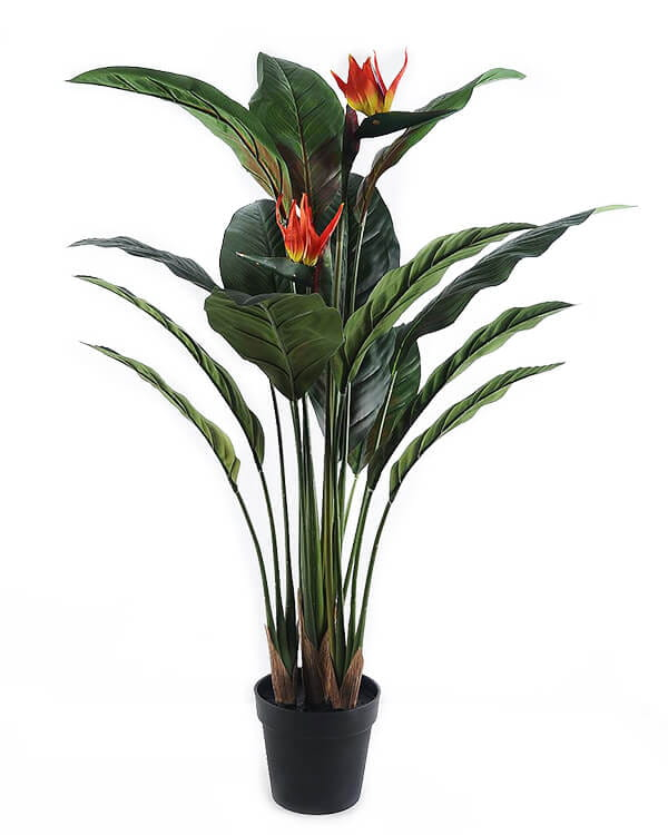 Artificial trees Bird Of Paradise In Plastic Pot