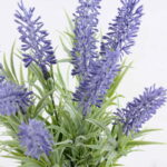 Artificial Flower 7.5*7.5*28CM lavender in tin pot GS-06919018+P