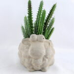 Artificial succulent 11*8.5*16CM Succulent in cement pot GS-30319012+P