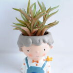 Artificial succulent 8*16CM Succulent in ceramic pot GS-30319054+P