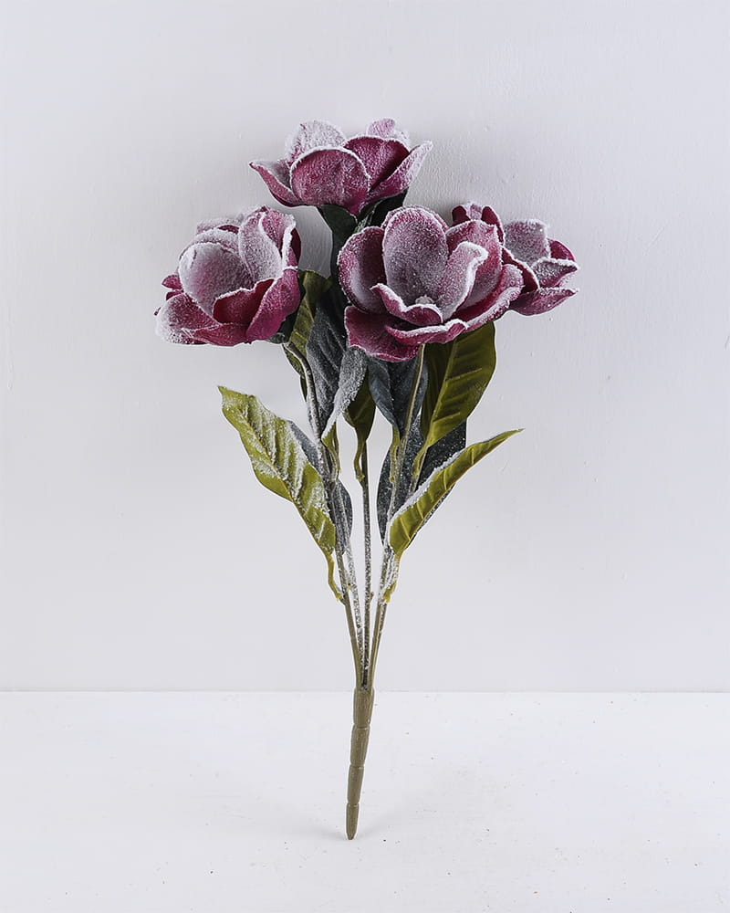 Artificial Flower 26*47CM Mangnolia bush*5 GS-57519002CONTI-R2